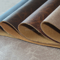 Camouflage Leather Fabric Pvc Synthetic Leather
