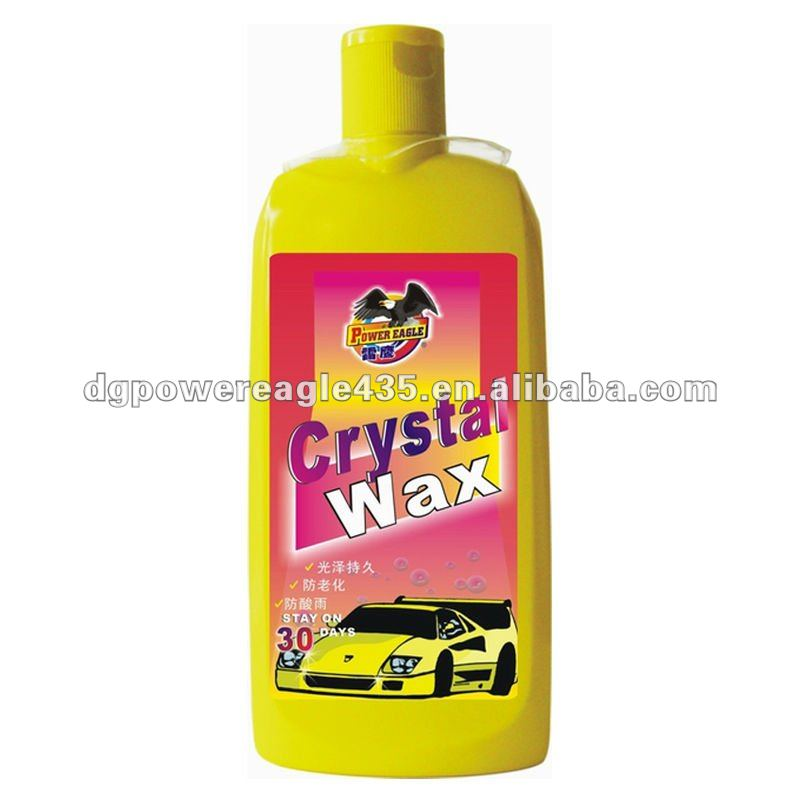 530ml Liquid Long Stay Crystal Car Wax