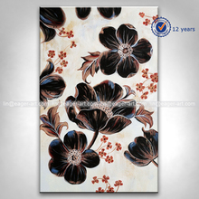 Handmade Home Decorative Modern Abstract Canvas Wall Art Flower Oil Painting