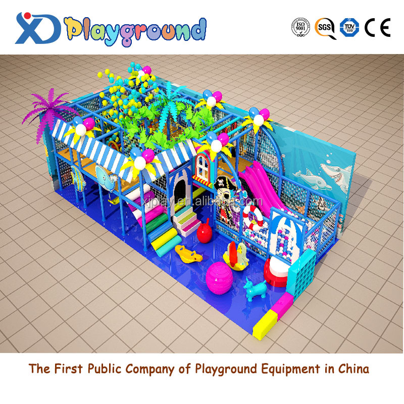Latest ocean style amusement park indoor playground equipment
