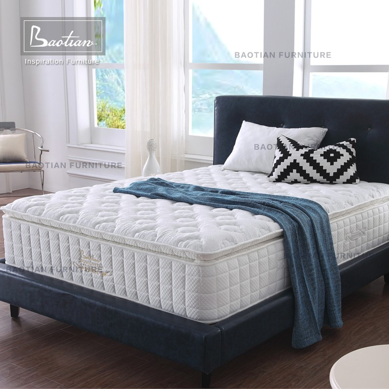 Hotel Bedroom Mattress King Size Memory Foam Spring