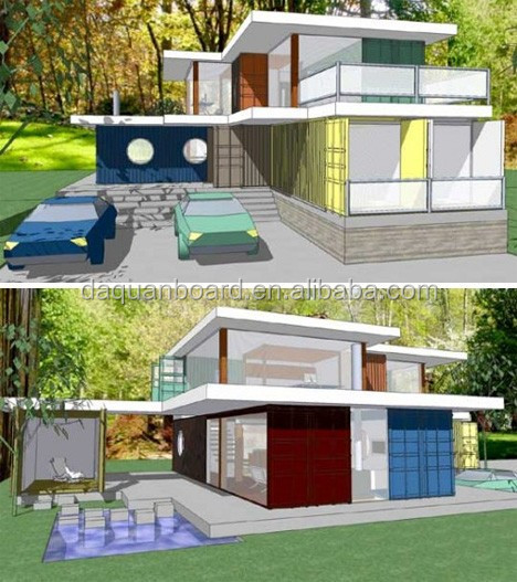 Sandwichplatte stahlkonstruktion container haus for Smart haus container