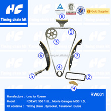 Timing kit used for ROEWE 350 1.5L