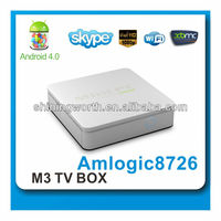 google 4.0 tv box aml8726 M3
