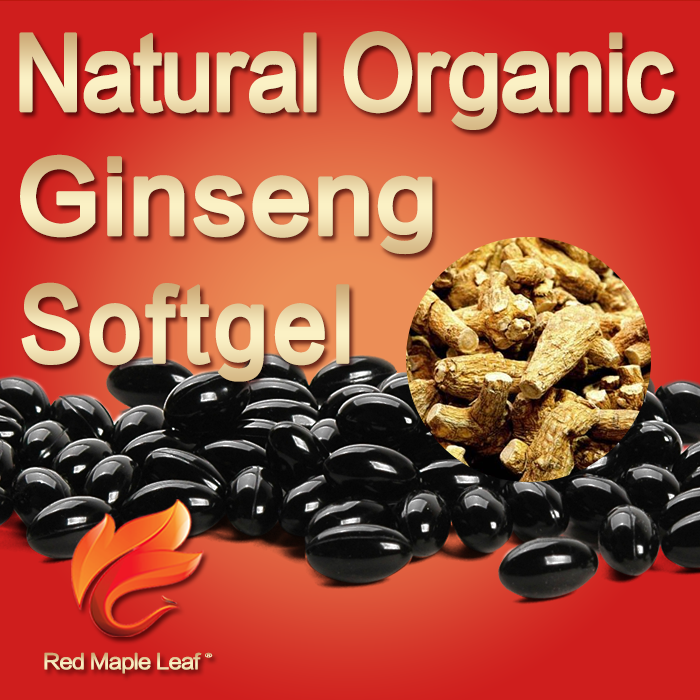 American Panax Ginseng Extract Tablets Pills Softgels