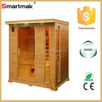 total portable infrared indoor sauna cabin price with computer control panel