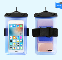 Alibaba HAISSKY 2018New Waterproof Phone Case for iPhone 7 8 plus and Android Water Proof Phone Case bag waterproof phone pouch