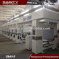 New Arrival 8 color speed 180 7motor width 1050 rotogravure printing machine
