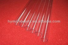 High purity clear quartz pipes,Quartz glass tubes with good transparency