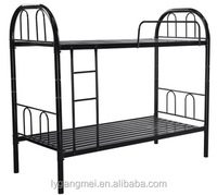 Bedroom/school furniture bunk bed iron metal tube