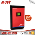 MUST 220V single phase DC to AC 5KVA 4000W hybrid solar inverter with 80A MPPT