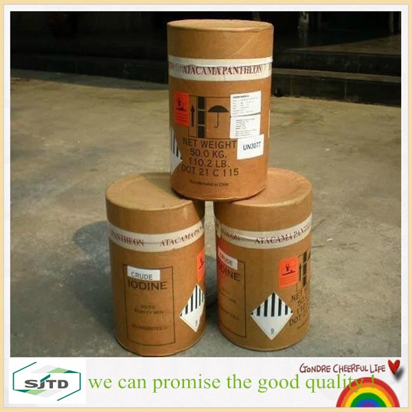 pure iodine crystals 99.9% / CAS No.: 7553-56-2 hot sales !