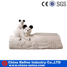 Cute Carved Granite Statues Stone animals Sculpture