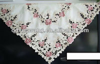 hand cutwork embroidered tablecloth and placemat
