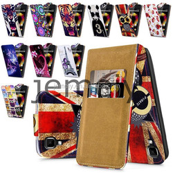 2015 New Arrival Fashion Flip Leather Case for Wiko Sunset with Card Slots