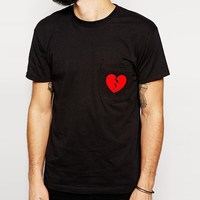 chest printing adult black very low price t-shirts