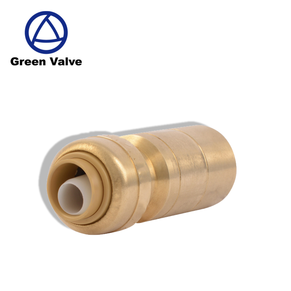 "Green-GutenTop GT4211 1/2"" OD X 3/4"" CTS Fitting Push-Fit Fitting Reducer to Connect Smaller Pipe Sizes"