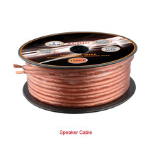 12awg Transparent car Speaker Cable OFC