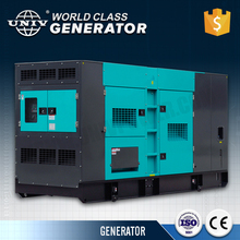 Strong color 50Hz Electric start 100kva Silent Diesel Generator with famous Alternator