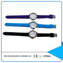 Unisex gender and silicone or rubber material focus quartz watch for kids