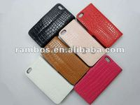 Multi Color Crocodile Folio Flip PU Leather Case with Credit Card Slot for iPhone 5 5G