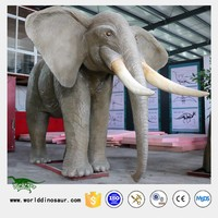 Hot Mechanical Animal Game Elephant Statue