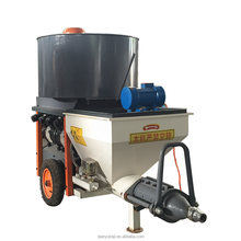 Guangzhou 380V 3 Phase Power Cement Sand Putty Mortar Plaster Spraying Injection Machine with Mixer