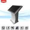 Stock for menu floor standing touch screen internet kiosk with keyboard window os oem/odm