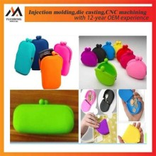 Coloured soft plastic case silicone molds injection molds