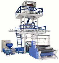 ppl ABC Three-layer Co-Extrusion Blown Plastic Film packaging Machine pp film blowing machine pe film blown machines