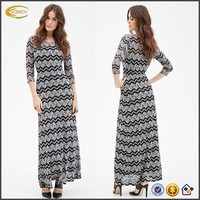 Ecoach fashion women's maxi dress OEM manufacturer wholesale latest custom fancy party long maxi dress