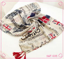 Korean new fashion wholesale women scarf autumn/winter voile scarves