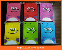 3D animal silicone case for ipad mini