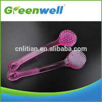 European standard 2016 New inventions of China supplier hot top grade short handle bath brush