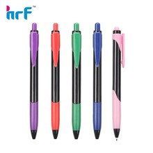 Stitching design plastic ball-point pen