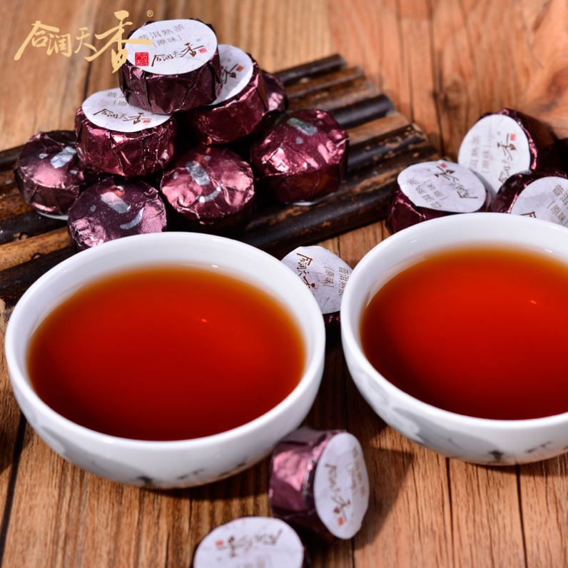easy slim shu puer tuocha china gift tea