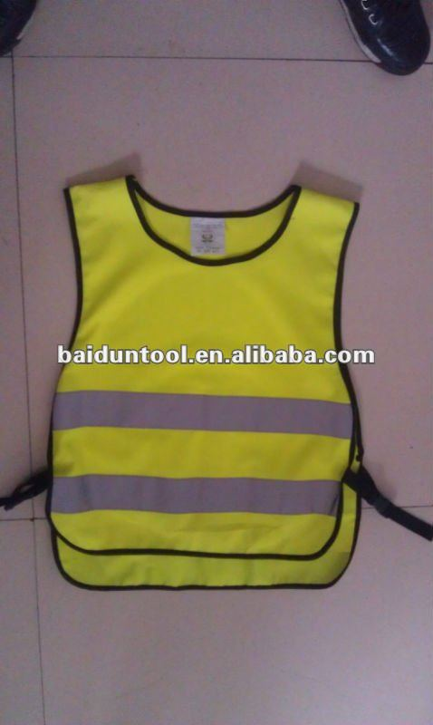 kid reflective safety vest/kids reflective clothes/kids night clothes