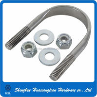 Steel u-bolt high quality of flat u bolt with competitive price