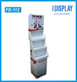 point of sale cardboard cell phone accessory display rack