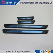 Plastic Outside Door Sill Scuff Plate For Mitsubishi ASX 2016 Car New Products