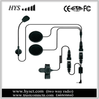 Sports/motorcycle helmet earpiece (stereo), good bass, loud - can attach to MP3/CD/Bluetooth receiver devices
