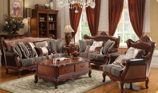 houten meubels woonkamer bankstel product on alibaba