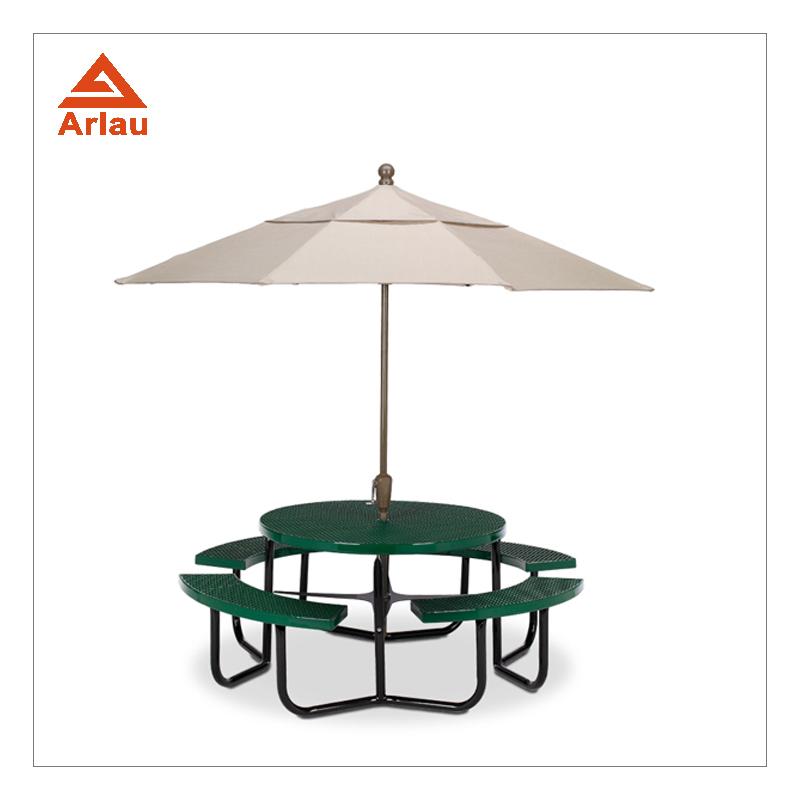 Wholesale Outdoor Furniture With Umbrella Online Buy Best Outdoor - Metal picnic table with umbrella