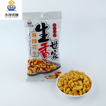 crispy coated spicy peanut