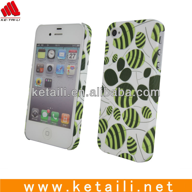 2013 New plastic mobile phone cover for iphone 4