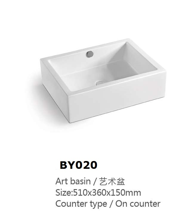 /BY020 Small Size sink Carbon Fiber Basin Overflow Hole Cover
