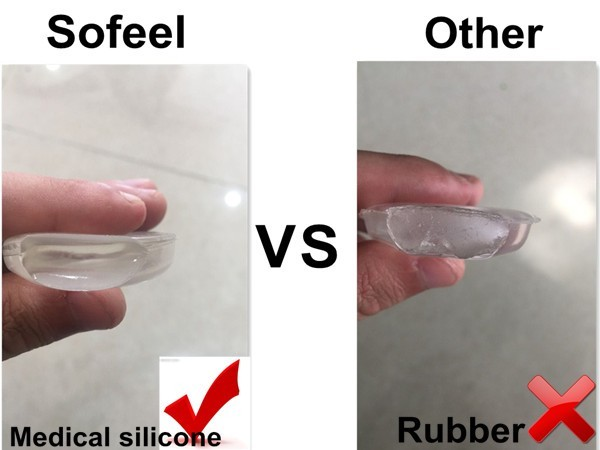 sofeel newest and best silisponge makeup blending medical silicone sponge