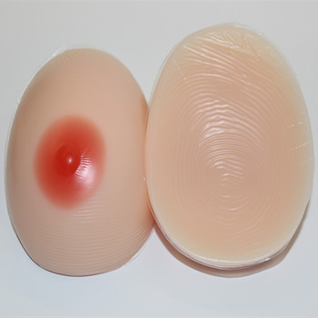 Sexy Silicone Breast Forms for Man Crossdresser Artificial Boobs 1000g/pair Wholesale