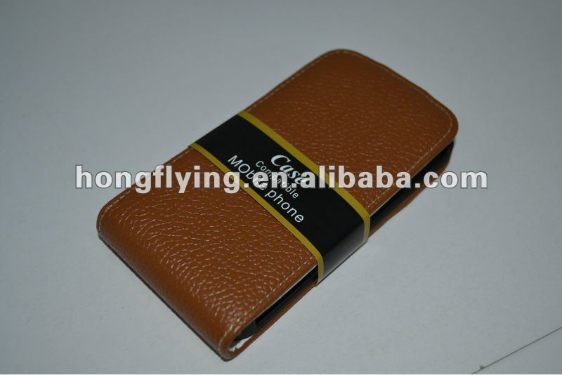 Leather Wallet Case for Apple iPhone 4g,for iphone4s cell phone case