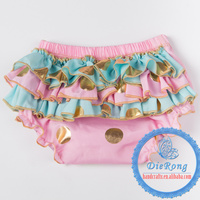 2015 Wholesale Baby Solid Ruffle Bloomers For Kids Bloomers Ruffle Panties